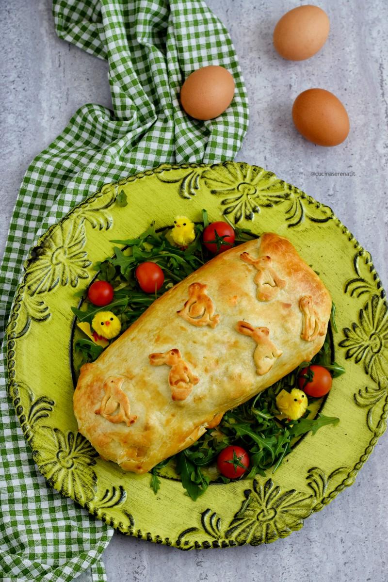 Pâté de Pâques o pâté Berrichon è un polpettone ripieno di uova tipico della festività Pasquale in Francia