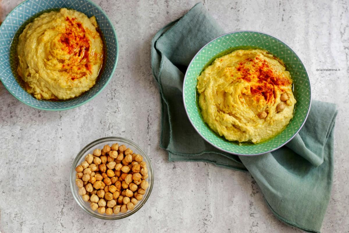 Hummus di ceci - la ricetta di famiglia