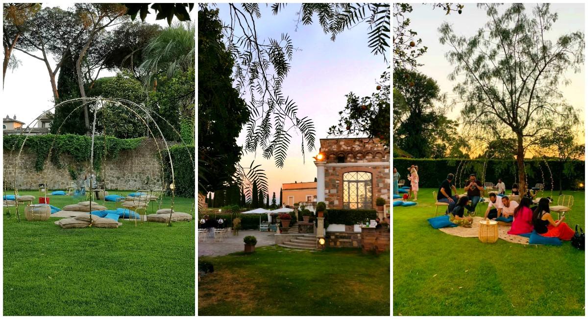 Luce Experience Restaurant Villa de Cesari