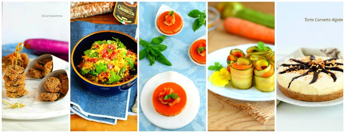 Menù di ferragosto - ricette Cucina Serena