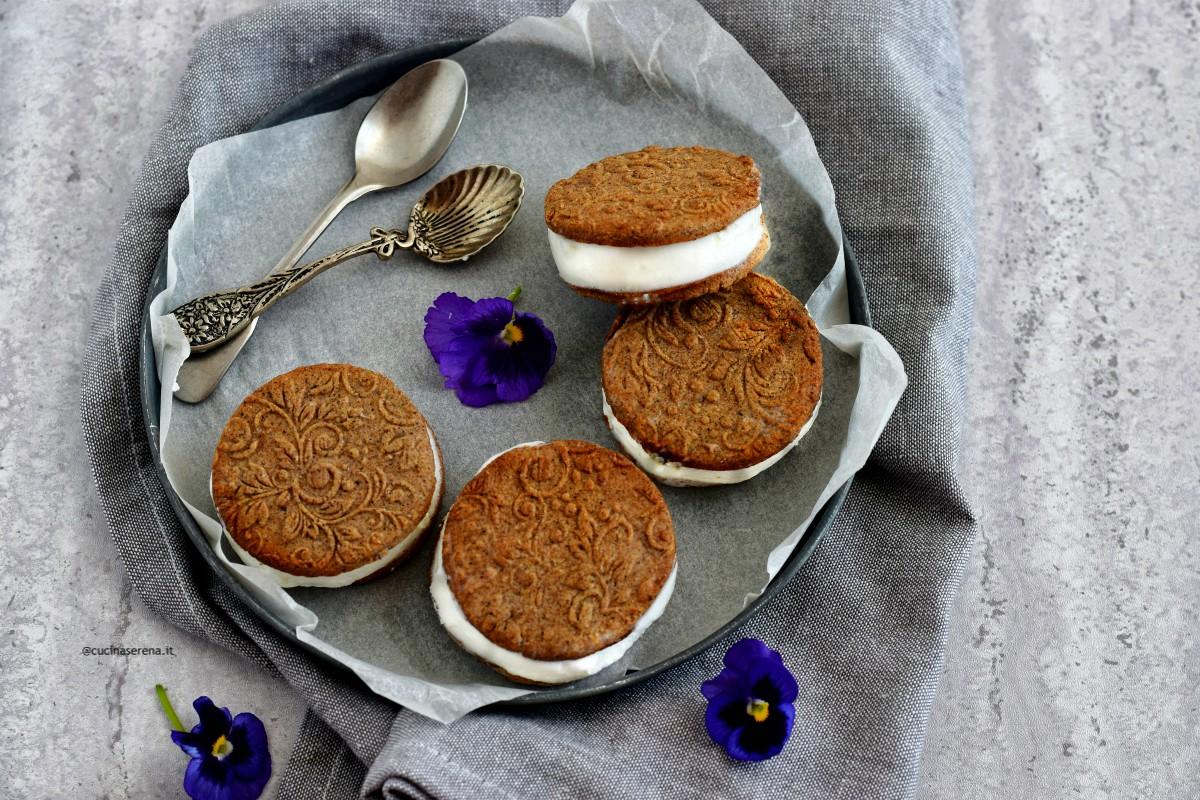Biscotti gelato fatti in casa gluten free