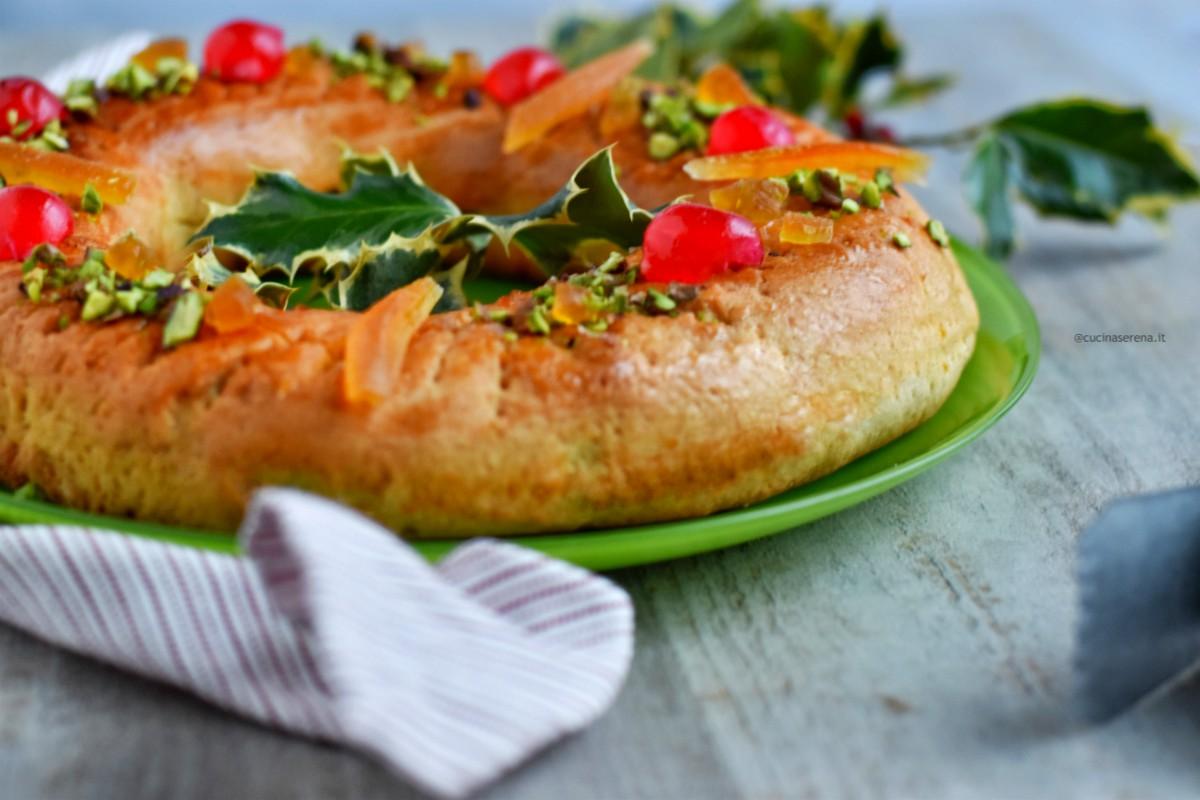 Buccellato ricetta è un'antica ricetta palermitana