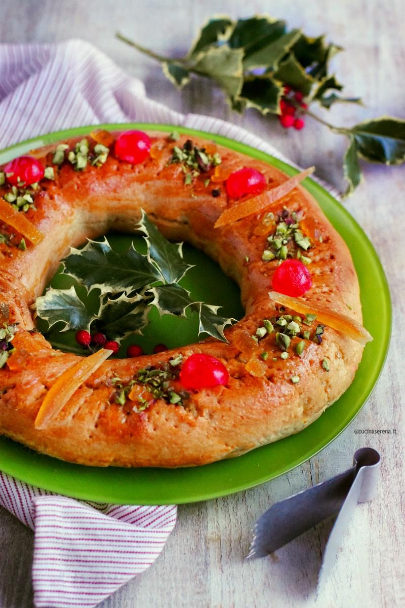 Buccellato siciliano ricetta natalizia