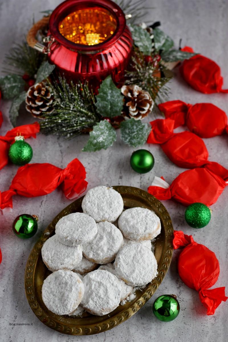 Polvorònes biscotti natalizi spagnoli