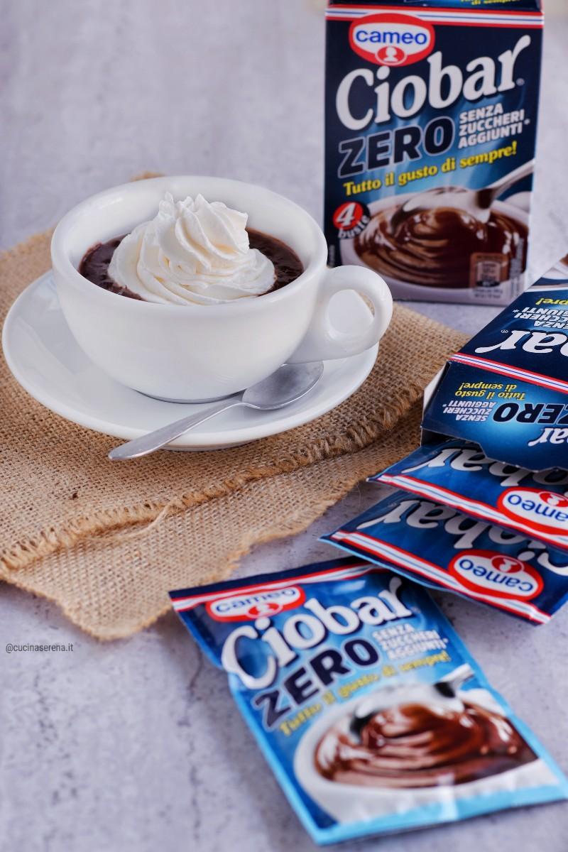 cioccolato senza zuccheri aggiunti Ciobar Zero - Cucina Serena