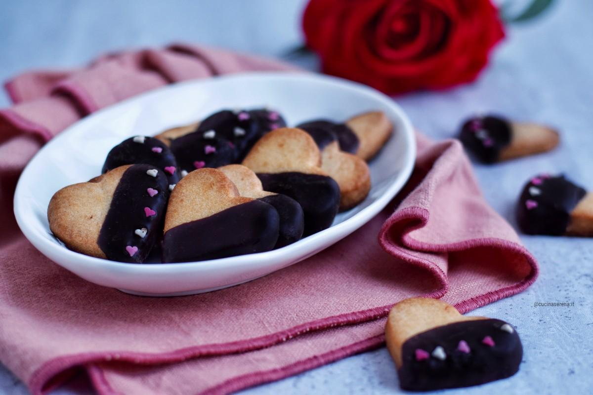 Biscotti a cuore per San Valentino Cucina Serena