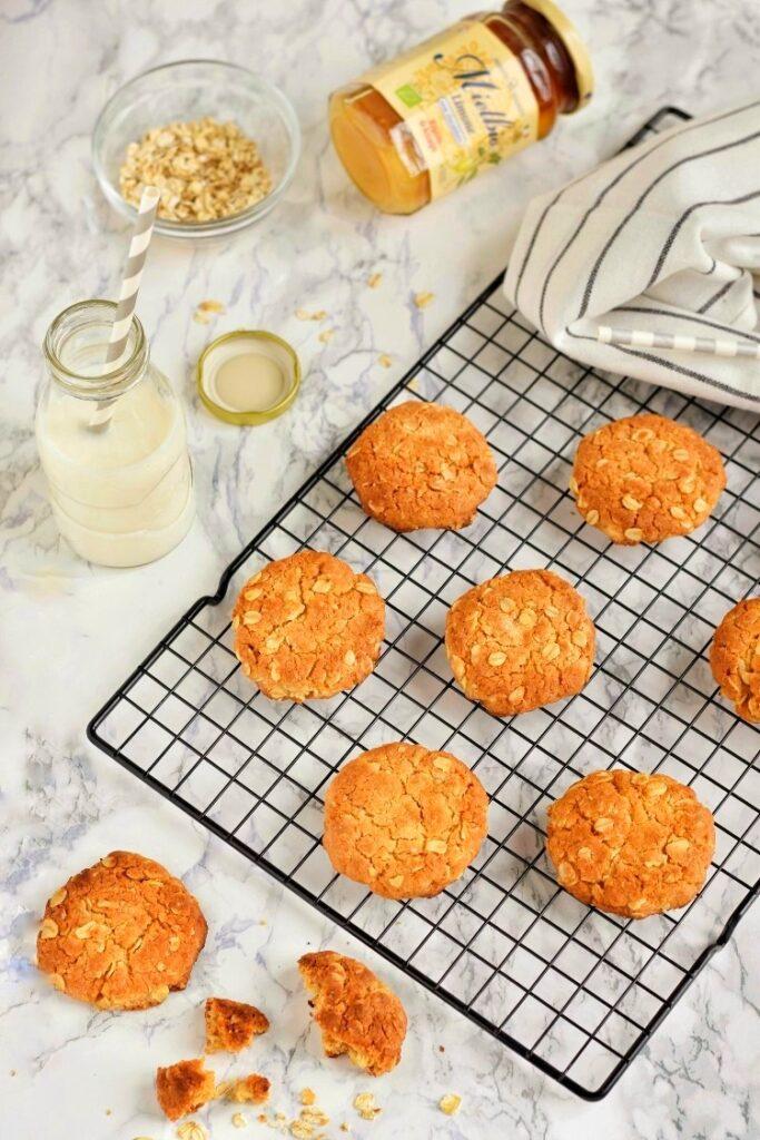 Anzac biscotti australiani - biscotti rustici ed energetici facili da fare