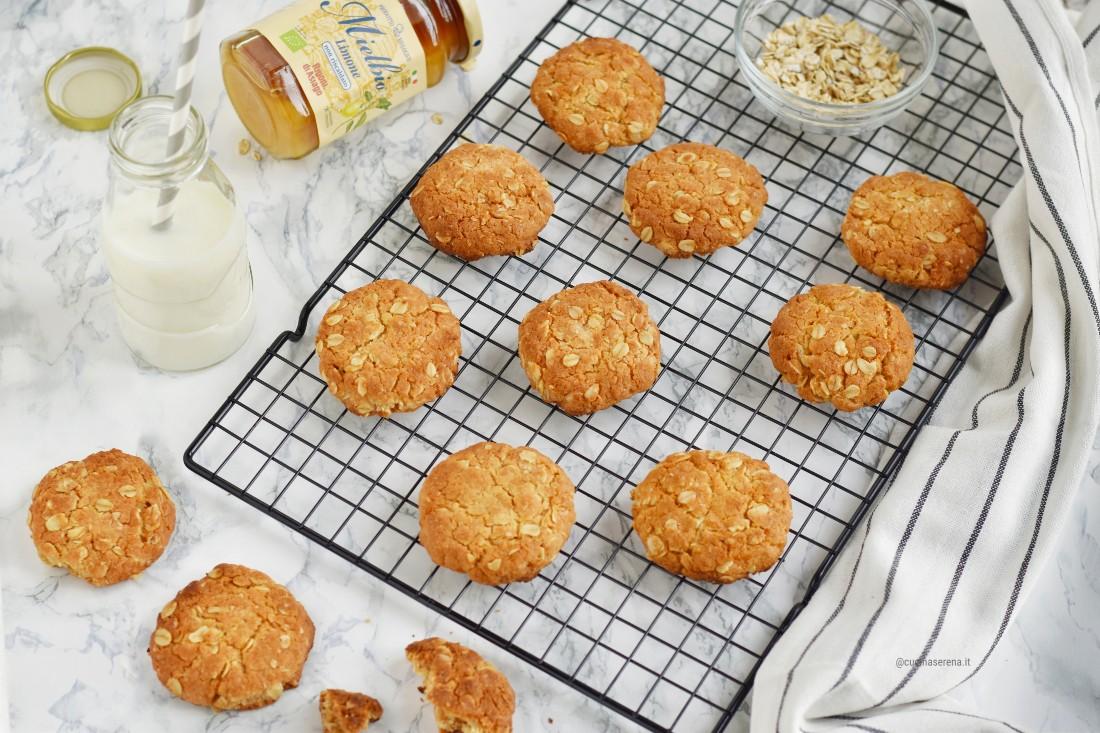 Anzac biscotti australiani