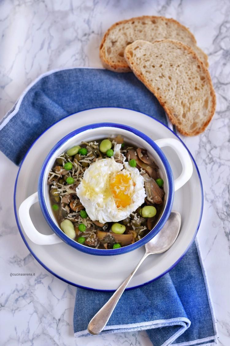 Bazzofia o zuppa dell'amore è una zuppa di verdure primaverili