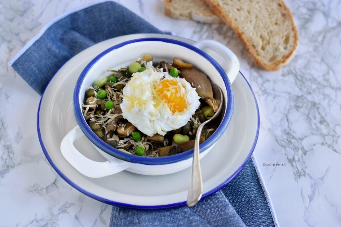 Bazzofia zuppa di verdure dell'Agro Pontino