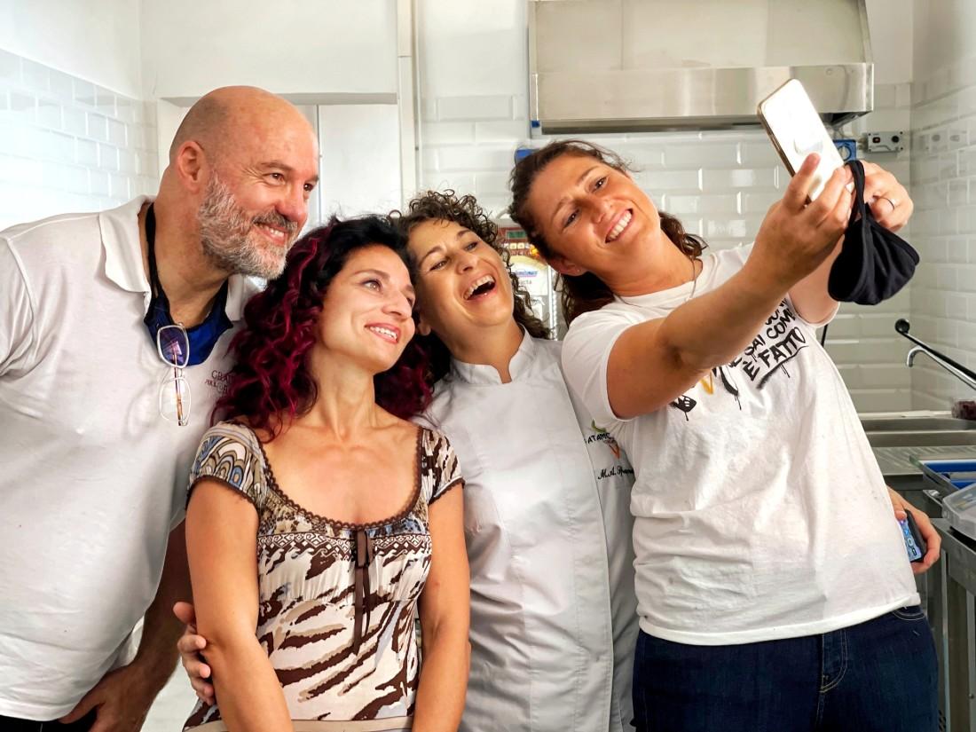 Gelato e territorio - foto con i gelatieri del Lazio