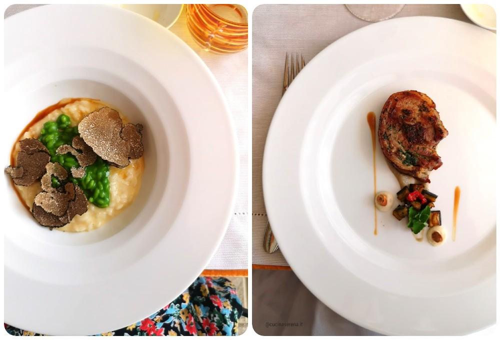 Borgo Petroro - Locanda Petreja chef Oliver Glowig nelle foto piatti del suo menù