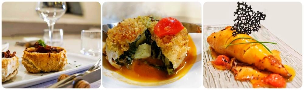 dove mangiare a Procida: Ristorante Il Gazebo, foto dei piatti