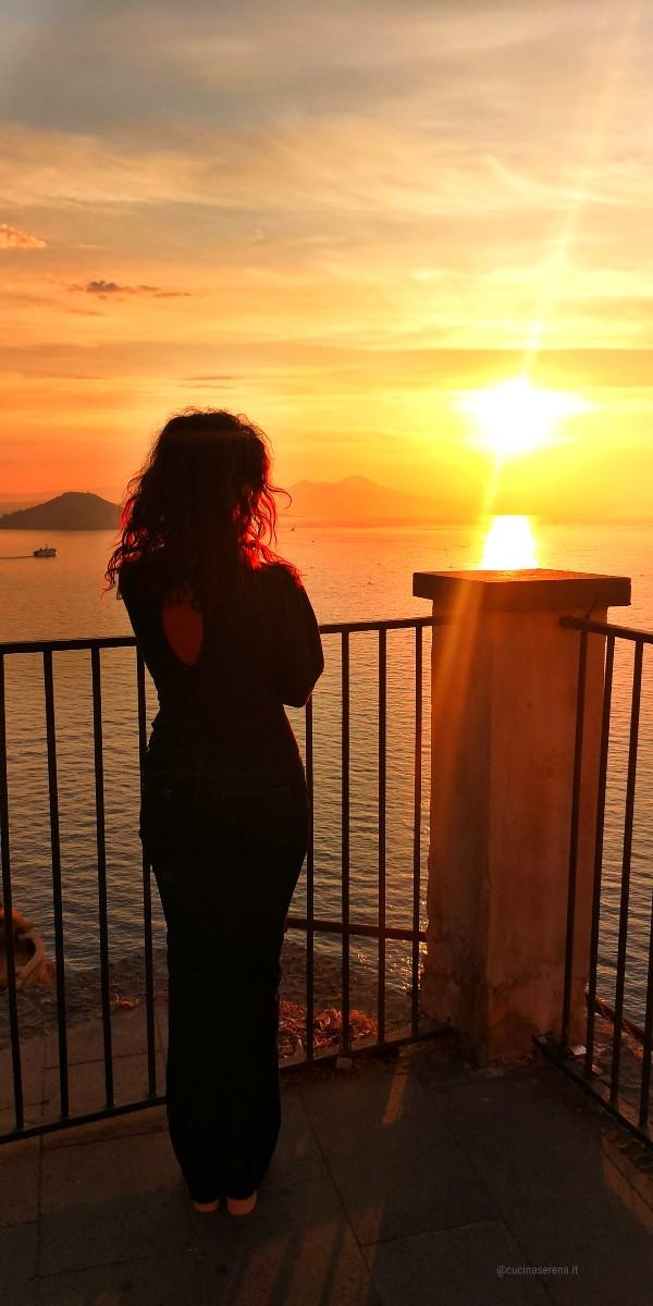 vista alba da Torre Murata Cucina Serena