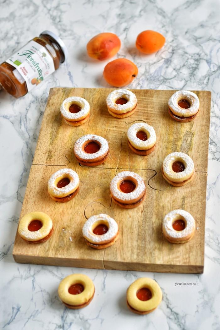 occhio di bue ricetta dei biscottia altoatesini con foro farciti con confettura